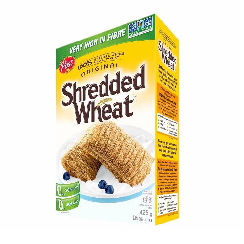 Post-Shredded Wheat Glycemic Index